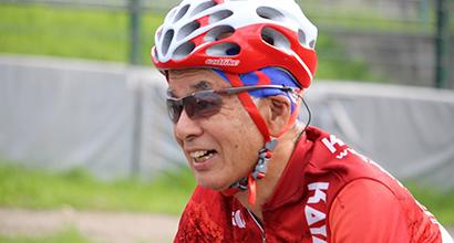 社長  香山泰伯(自転車技士)